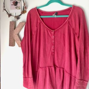 Free people - oversized thermal